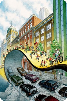 Book cover for Critical Mass: Bicycling's Defiant Celebration