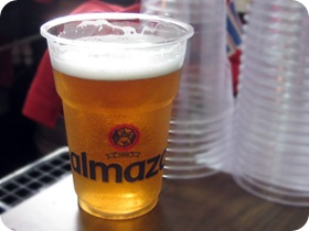 Largest Tabbooleh Plate, Almaza beer