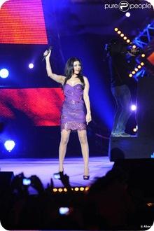 Concert pour la Tolerance, Agadir, Haifa Wehbe