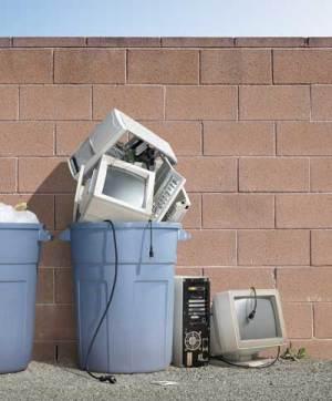 Old Computer Trashed