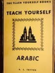 Teach Yourself Arabic - A. S. Tritton