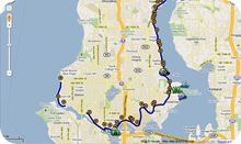 Burke Gilman Trail Map