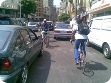 Biking in Beirut
