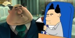 Mr. Perkins Despicable Me, Poitty-haired boss